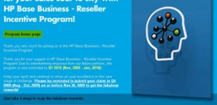HP Reseller Incentive Program